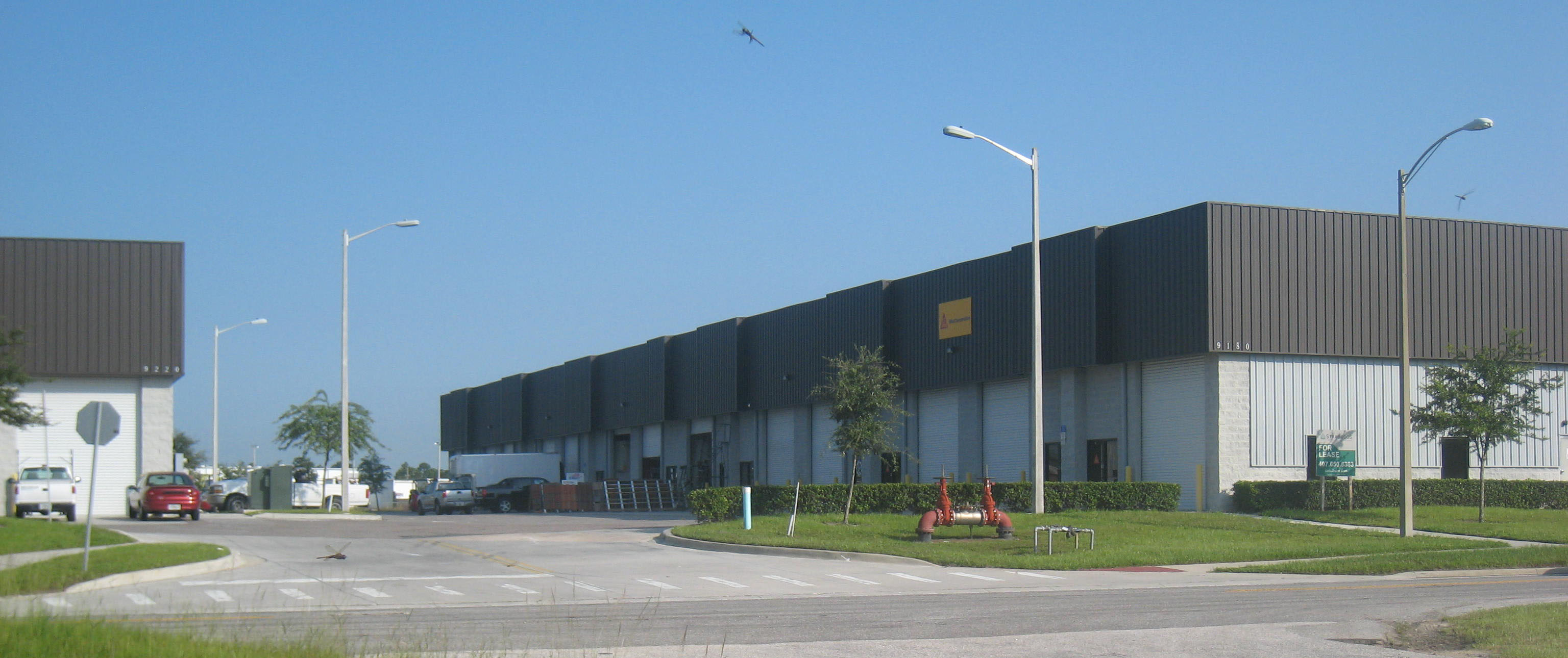 Airport Distribution Center Small Bay Warehouses